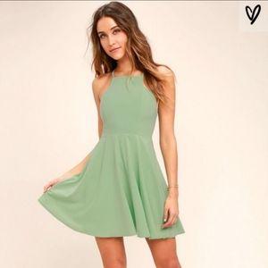 Lulus Call To Charms Mini Skater Dress